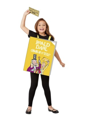 Charlie and the Chocolate Factory book week book Cover Costume cs52455