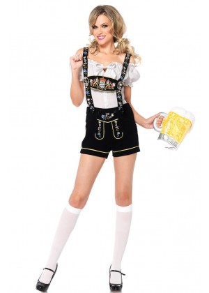 German Bavarian Heidi Costume lb5002