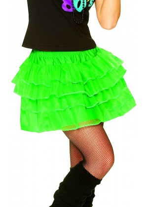 Green 80s Pettiskirt lh186green