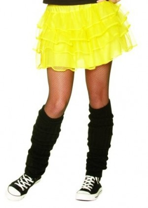 Yellow 80s Pettiskirt  lh186yellow