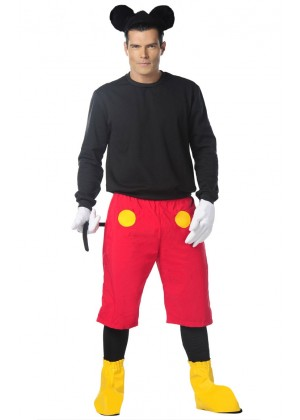 Mens Mickey Mouse Halloween Costume lh205