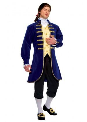 George Washington Colonial Men Costume lh206