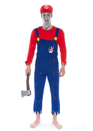 Mario Zombie Costumes LH-210R_1