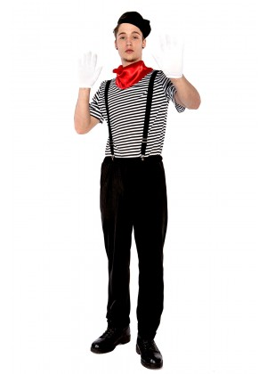 Mesmerizing Mime Costumes LH213_1
