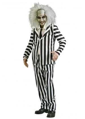 Mr Beetlejuice Halloween Costume lh239