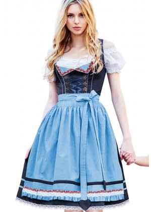 Beer Maid Vintage Costume lh313