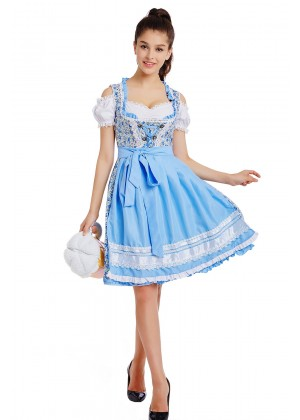 Beer Maid Oktoberfest costume lh330