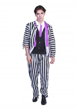Zombie Beetlejuice Scary Costume Halloween