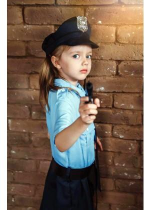 Kids Girls Policeman Officer Uniform lp1041