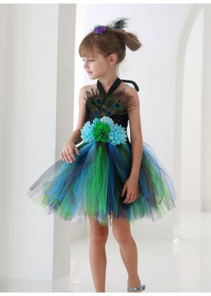 Girls Peacock Costume lp1056