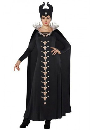Women Maleficent Costume with Headpiece lp1062