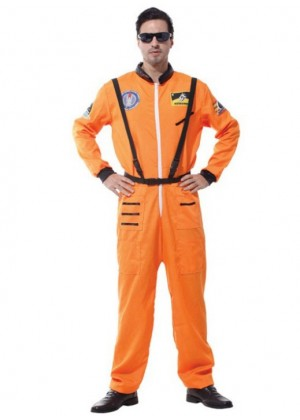 Adult Spaceman Orange Costume lp1066orange