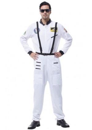 Adult Spaceman White Costume lp1066white