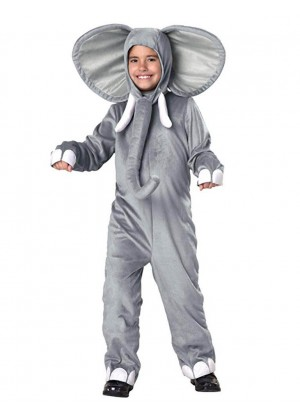 Kids Elephant Animal Halloween Cosplay Costume