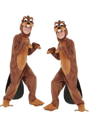 Kids Otter Animal Halloween Cosplay Costume