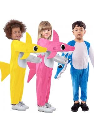 Kids Baby Shark Costume Halloween Fancy Dress
