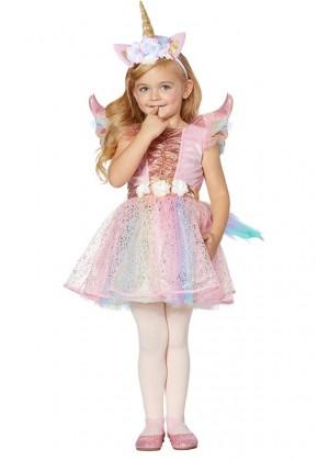 Girls Unicorn Tutu Skirt Fancy Dress Costume