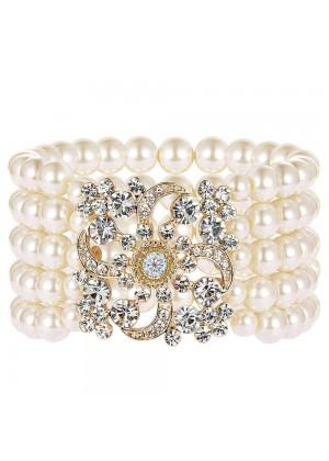 Gold 20s Flapper Bracelet lx0196-2