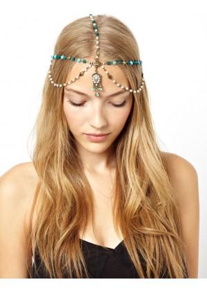 20s Deco Vintage Hairband Chain Headband lx0217
