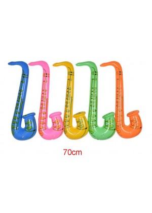70cm Inflatable Instrument Saxaphone lx0240