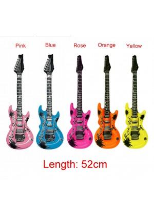 52cm Inflatable Blow Up Rock Guitar lx0242