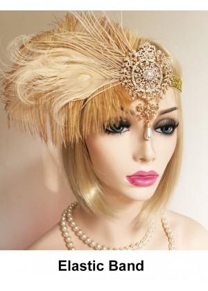 Ladies 20s Theme Hair Headband lx0246