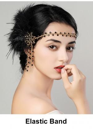 Ladies 1920s Vintage Flapper Headband lx0248