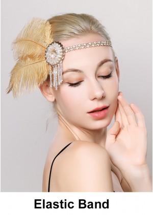 Ladies 20s Vintage Gatsby Flapper Headband lx0249