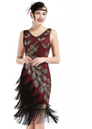 1920s Flapper Dress Costume