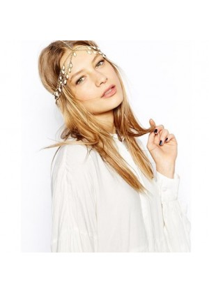 20s Deco Downton Boho Goddess Headband lx2005