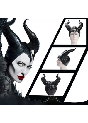 Women's Maleficent Horns Headwear Accessory lx2026-2