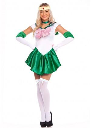 Ladies Sailor Moon Jupiter Costume lz8675g