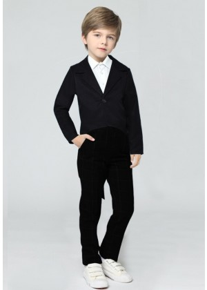 Black Kids Tailcoat