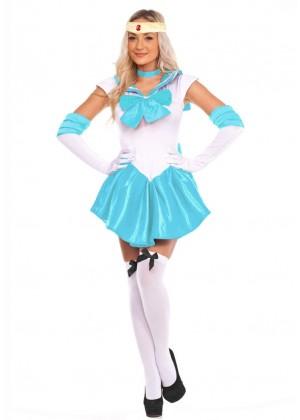 Ladies Sailor Moon Mercury Costume