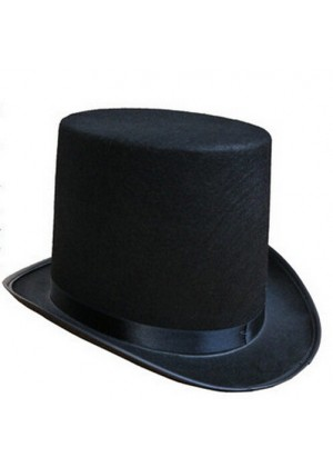 Kids Top Hat Mat Hatter Party Costume Magician Wedding Fedora Lincoln Victorian Gentleman Ring Master