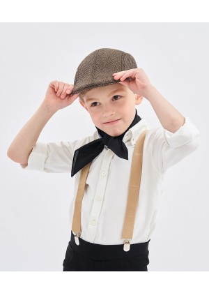 Victorian boy colonial boy costume cap hat Kids