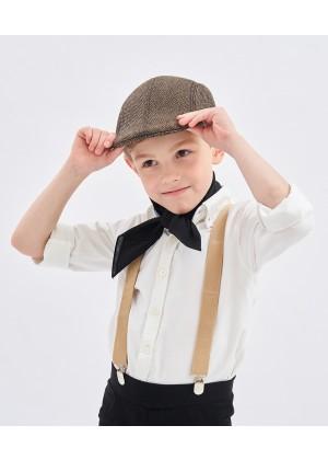 Victorian boy colonial boy costume cap hat Kids