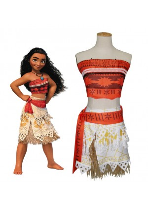 Adult Moana Polynesia Princess Dress Girls BookWeek Hawaiian Costume Book Week