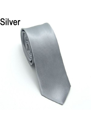 1920s Mens Silver Gangster Costume Tie Roaring 20s Gatsby Fancy Dress Costume Accessory