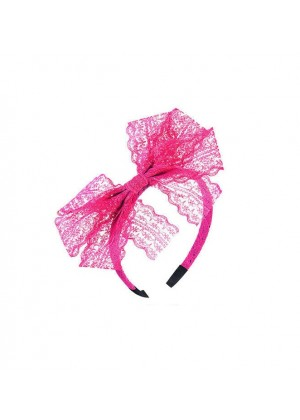 Rose Red 80s Party Headband