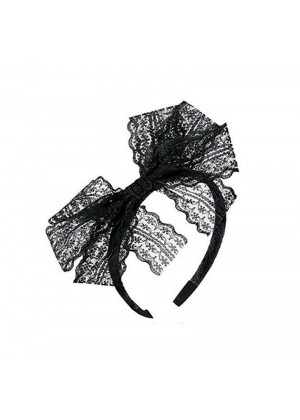 Black 80s Party Headband