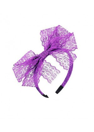 Purple 80s Party Headband