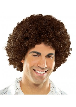 Funky Brown Unisex Afro Wig