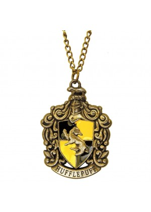 Harry Potter 4 House Hogwarts Necklace Gryffindor Ravenclaw Hufflepuff Slytherin