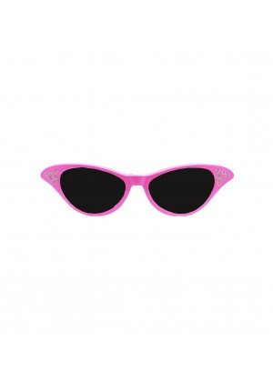 Black Flyaway Style Rock and Roll Sunglasses