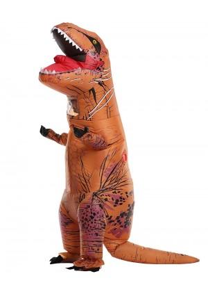 Kids Inflatable Dinosaur Costume Child Jurassic World Park Trex T-Rex T rex Blow