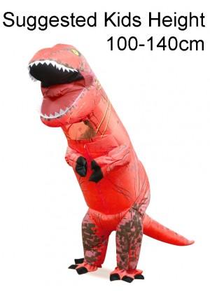 Child Red T-REX Costume