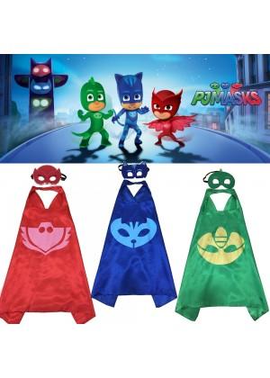 PJ masks Gekko Costume Set 3 colors