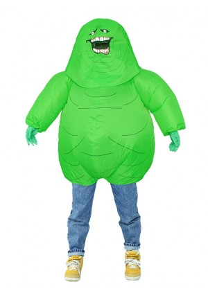 Green monster carry me inflatable fun costume tt2034