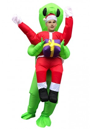 Xmas ET carry me inflatable fun costume tt2035